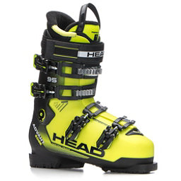 Head Advant Edge 95 Ski Boots, Yellow-Black, 256