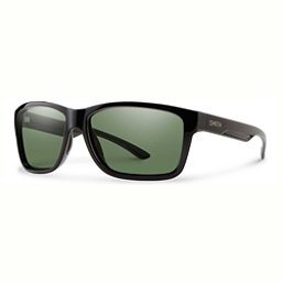 Smith Drake Polarized Sunglasses, Black-Chromapop Polarized Gray Green, 256