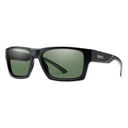 Smith Outlier 2 Sunglasses, Matte Black-Chromapop Polarize, 256