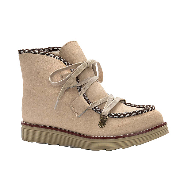 Royal Canadian Kwantlen Pony Womens Boots, Natural, 600