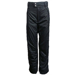 World Famous Sports Pull On Womens Ski Pants, Black, 256