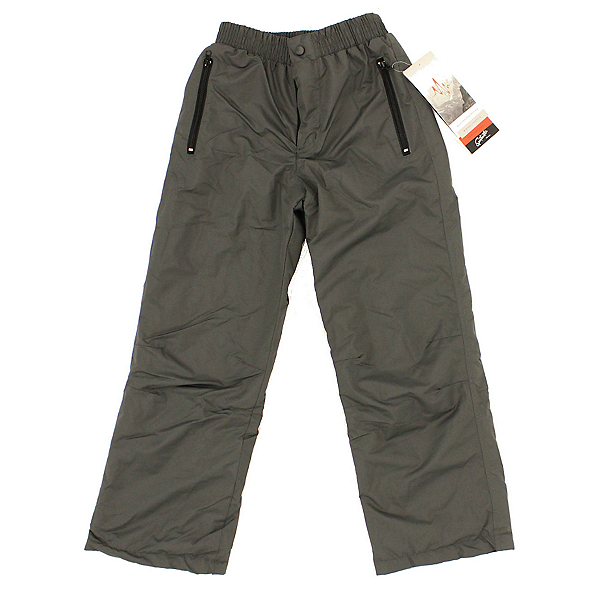World Famous Sports Boys Pull On Kids Ski Pants 2099, Grey, 600