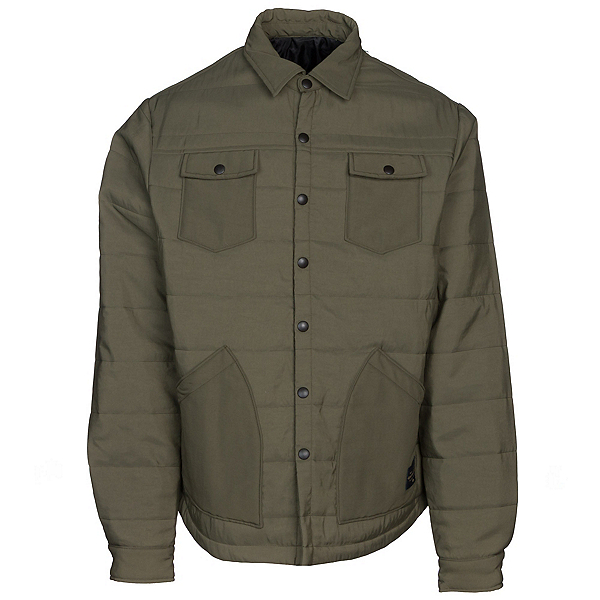 United By Blue Bison Snap Mens Jacket 2018, Olive, 600