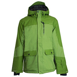Ripzone Buckshot Mens Insulated Ski Jacket, Cedar Green, 256