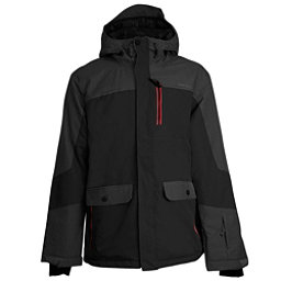 Ripzone Buckshot Mens Insulated Ski Jacket, Black, 256