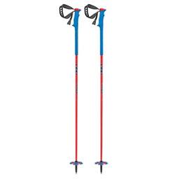 Leki Red Bird Ski Poles 2018, Red-Blue, 256