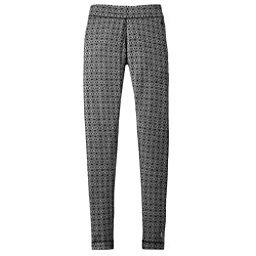SmartWool Merino 250 Base Layer Patterned Womens Long Underwear Pants, Dogwood White-Black, 256