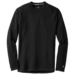 SmartWool Merino 250 Baselayer Crew Mens Long Underwear Top, Black, 256