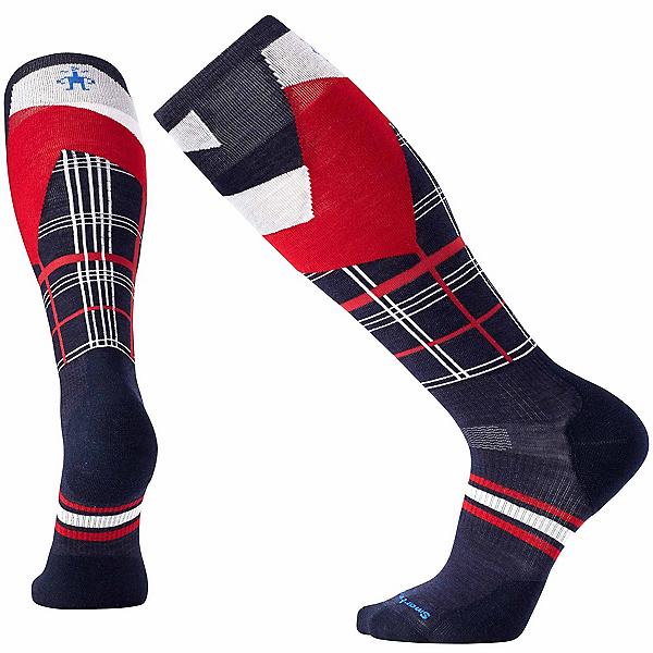 SmartWool PhD Slopestyle Light Elite Plaid Ski Socks, , 600