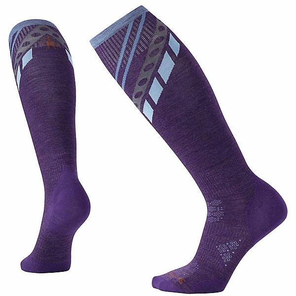 SmartWool PhD Ski Ultra-Light Pattern Womens Ski Socks, , 600