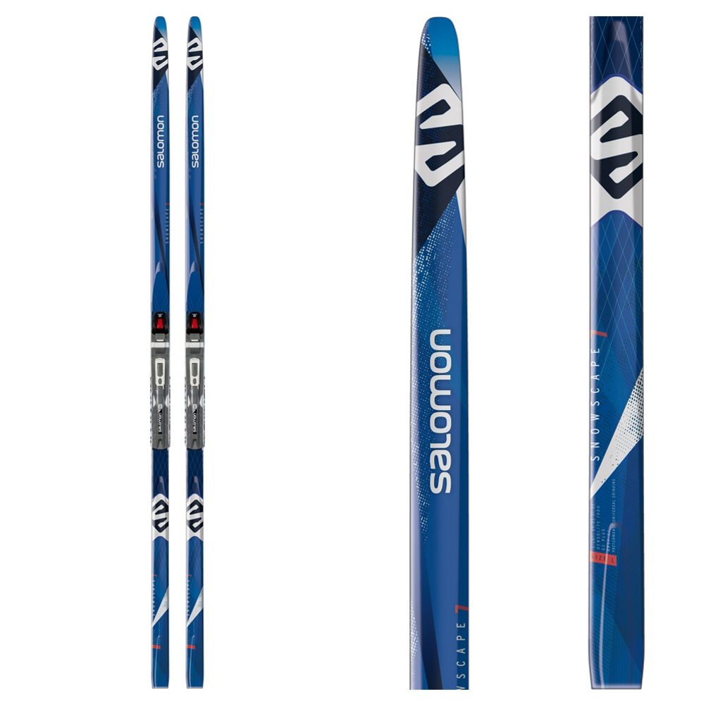 Salomon Snowscape 7 Prolink Cross Country Skis with Bindings im test