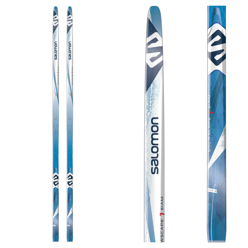 Salomon Snowscape 7 Siam Prolink Cross Country Skis with Bindings im test