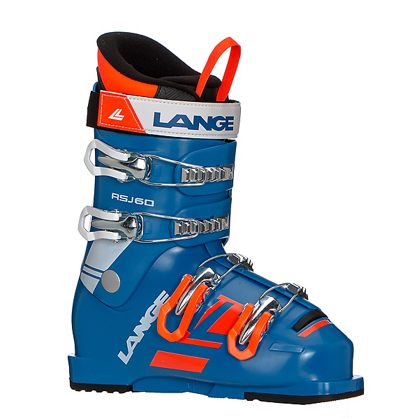 Lange RSJ 60 Junior Race Ski Boots 2019, Power Blue, 600