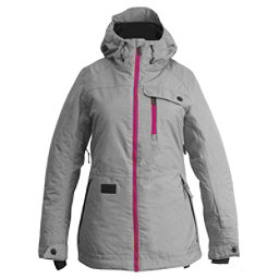 Ripzone Star Womens Insulated Ski Jacket, High Rise, 256