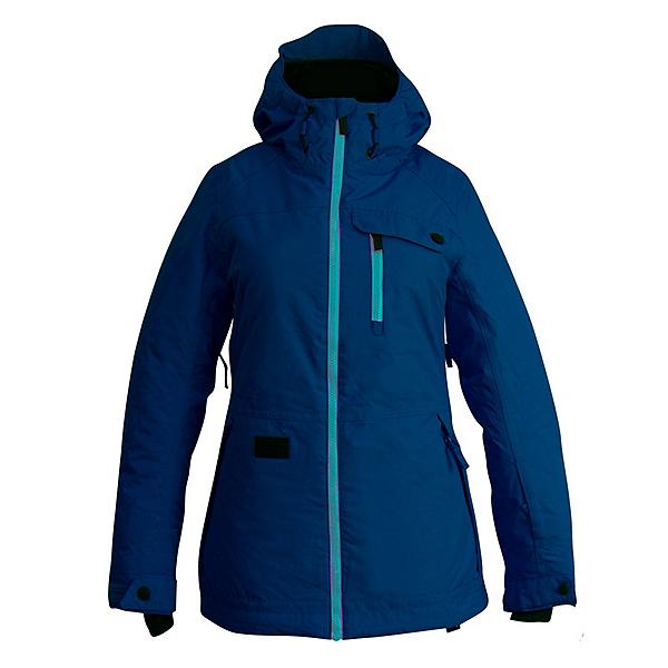 Ripzone Star Womens Insulated Ski Jacket, Insignia Blue, 600