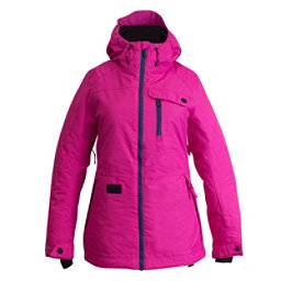 Ripzone Star Womens Insulated Ski Jacket, Pink Yarrow, 256