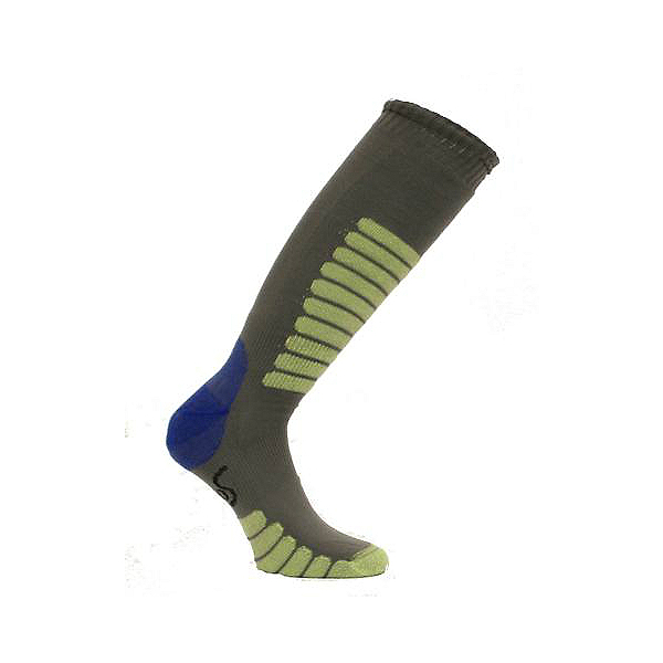 Euro Sock NEW Eurosock Supreme Lightweight Ski Sock Gray Mint Model #0412, , 600