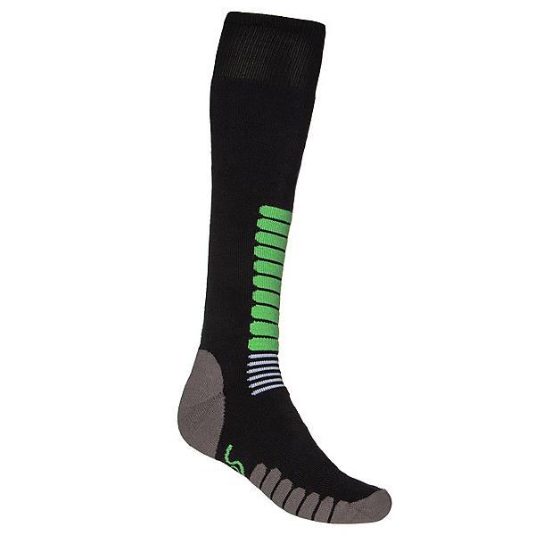 Euro Sock NEW Eurosock Ski Zone Medium Weight Sock Black Mint Model #1112, , 600