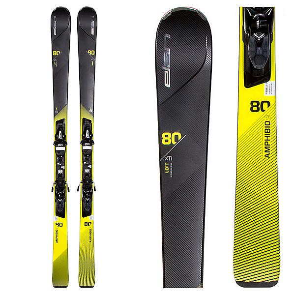 Elan Amphibio 80 Xti F Skis with ELX 11.0 Bindings, , 600