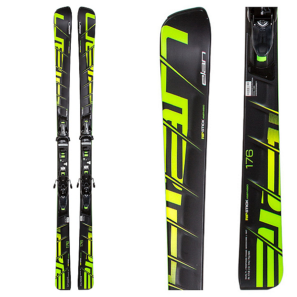 Elan Ripstick F Skis with ELX 12.0 Bindings, , 600