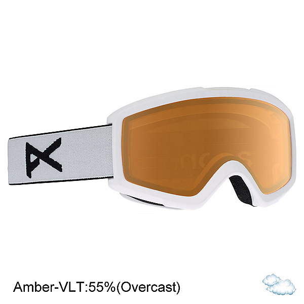 Anon Helix 2.0 Non Mirror Lens Goggles 2020, Overcast, 600
