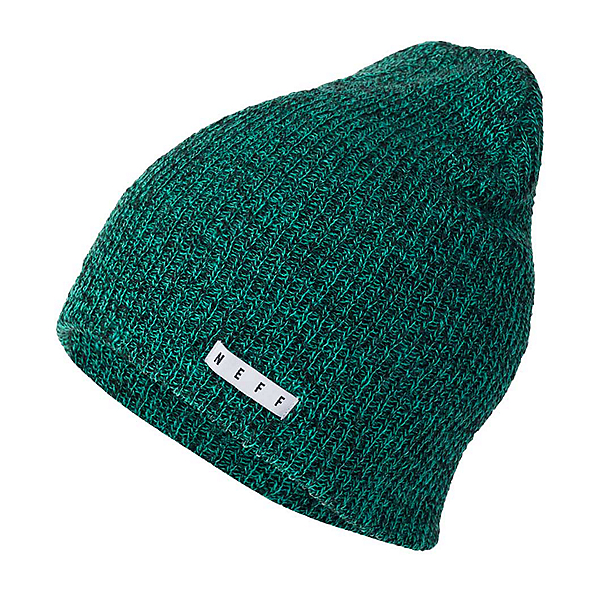 NEFF Daily Heather Hat, Black-Green, 600