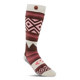 ThirtyTwo Himalaya Womens Snowboard Socks, Red, 256