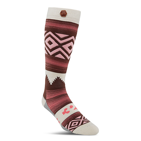 ThirtyTwo Himalaya Womens Snowboard Socks, Red, 600