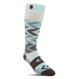 ThirtyTwo Himalaya Womens Snowboard Socks, Charcoal-Heather, 256