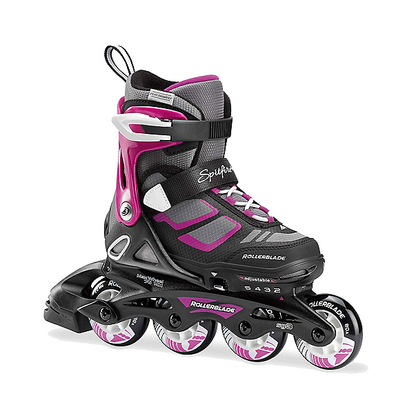 Rollerblade Spitfire XT Adjustable Girls Inline Skates, , 600