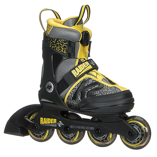 K2 Raider Boa Adjustable Kids Inline Skates 2019, , 600