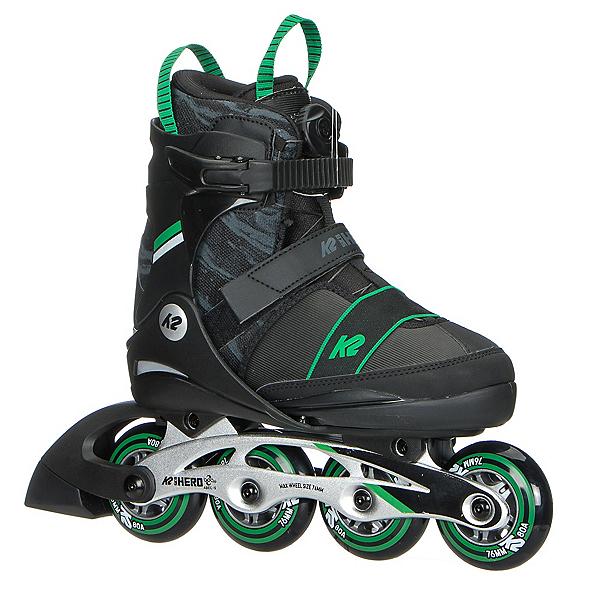 K2 Sk8 Hero Boa ALU Adjustable Kids Inline Skates 2018, , 600