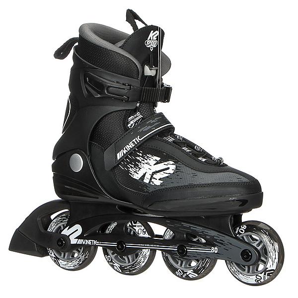 K2 Kinetic 80 Pro Inline Skates 2019, Black-White, 600