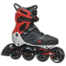 K2 VO2 90 Boa Inline Skates 2018, Black-White-Red, 256