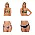 Body Glove Akela Alani Bathing Suit Top & Body Glove Wonderland Flirty Surf Rider Bottoms Bathing Suit Set