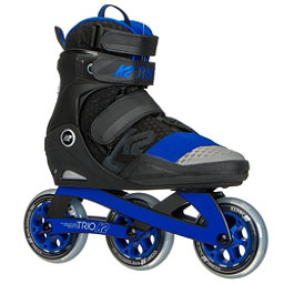 K2 Trio 100 Urban Inline Skates 2018, Grey-Blue, 256