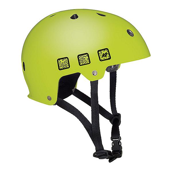 K2 Junior Varsity Boys Skate Helmet 2018, Matte Lime, 600