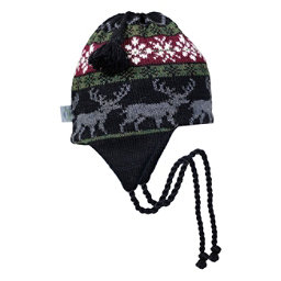 Turtle Fur Reindeer Games Earflap Hat, , 256