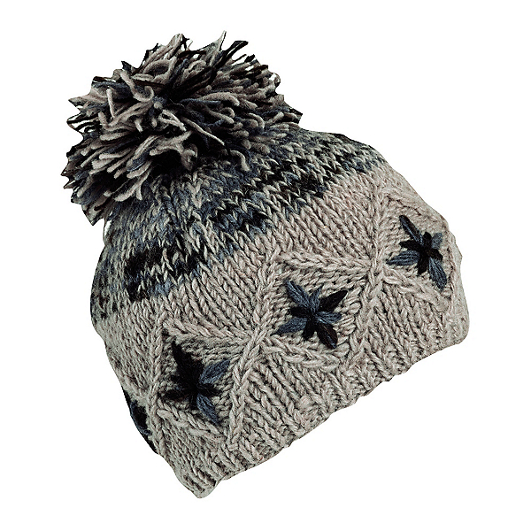 Turtle Fur Nepal Kukee Womens Hat, Gray, 600