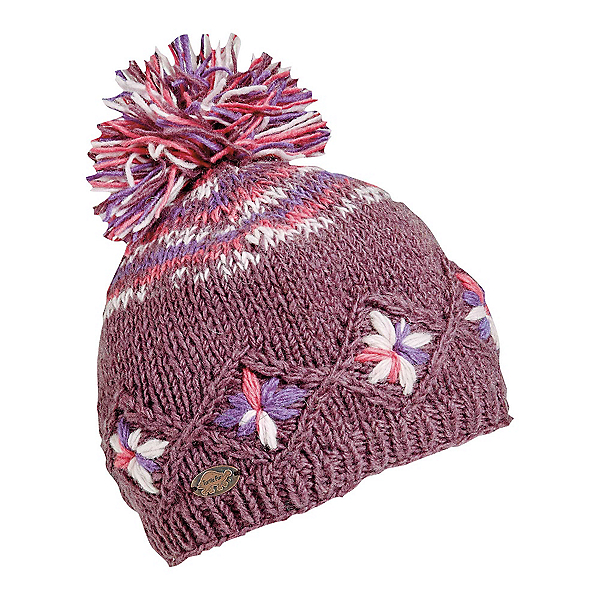 Turtle Fur Nepal Kukee Womens Hat, Berry, 600