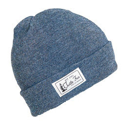 Turtle Fur Titus Cuffed Hat, Denim, 256