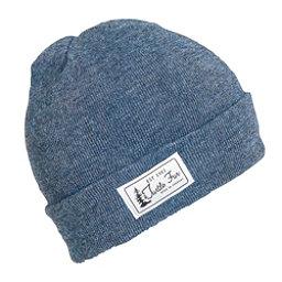 Turtle Fur Titus Cuffed Hat, Denim, 256
