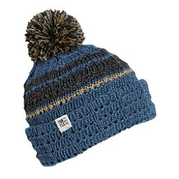 Turtle Fur Dudely Pom Hat, Blue, 256