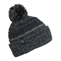 Turtle Fur Dudely Pom Hat, Charcoal, 256