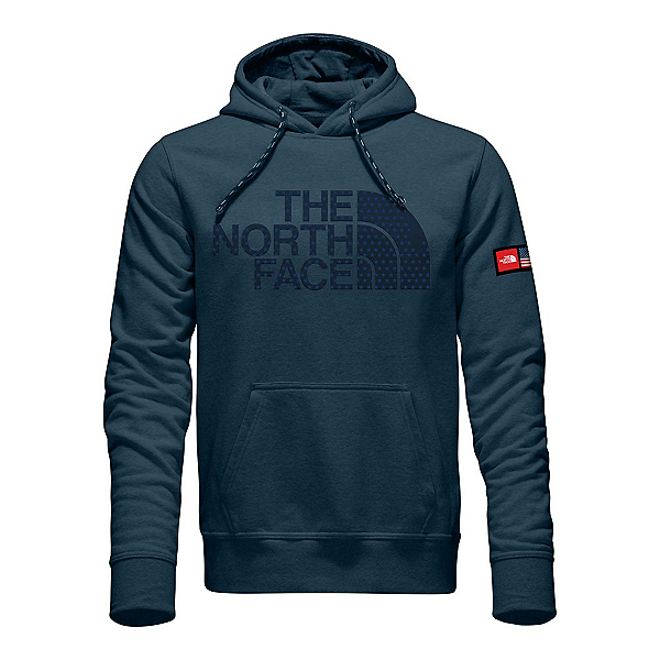 The north face international collection logo pullover mens for International collection