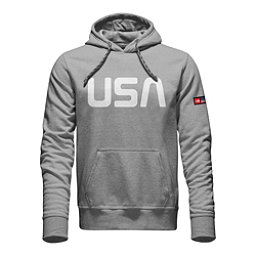 The North Face International Collection Logo Pullover Mens Hoodie, TNF Light Grey Heather, 256