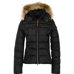Bogner Fire + Ice Lela Down Womens Insulated Ski Jacket, Black, 256
