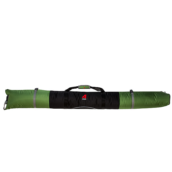 Athalon Single Ski Padded Ski Bag 2018, Green-Black, 600