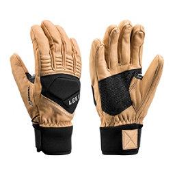 Leki Copper S Gloves, Tan-Black, 256