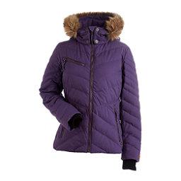 NILS Annalise w/Faux Fur Womens Insulated Ski Jacket, Nightshade, 256